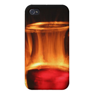 Wine and Fire Covers For iPhone 4