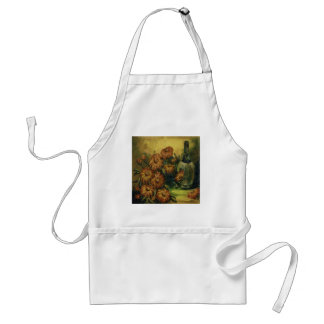 Wine and Flowers Apron