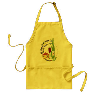 Wine and Friends Standard Apron