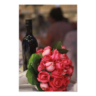 Wine and Roses Photo Art