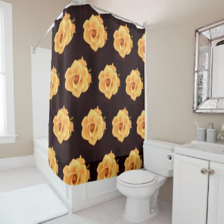 Wine and Roses Shower Curtain
