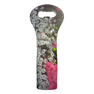 Wine bag with roses
