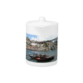 Wine barrel boats, Porto, Portugal