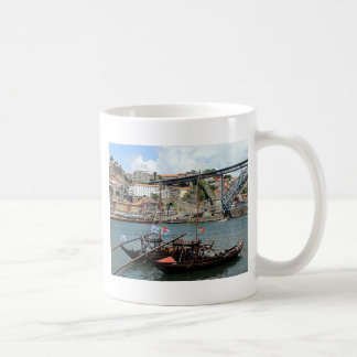 Wine barrel boats, Porto, Portugal Coffee Mug