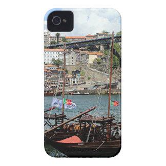 Wine barrel boats, Porto, Portugal iPhone 4 Case-Mate Case