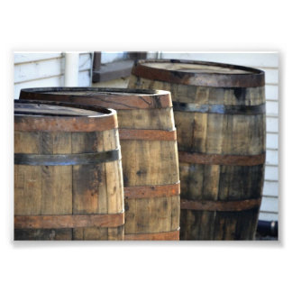 Wine Barrel Photo Print