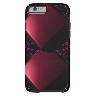 Wine Black Trendy Futuristic 3D Alien Tech Fun Tough iPhone 6 Case