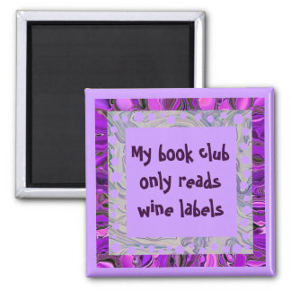 wine book club magnet