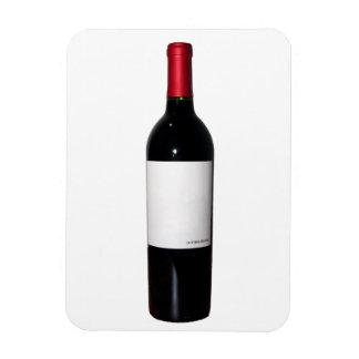 Wine Bottle (Blank Label) Flexi Magnet