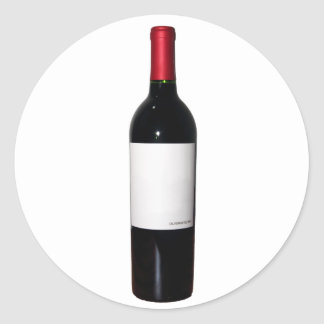 Wine Bottle (Blank Label) Stickers