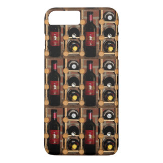 Wine Bottles in Rack iPhone 7 Plus Case