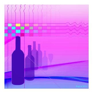 Wine Bottles Photo Print