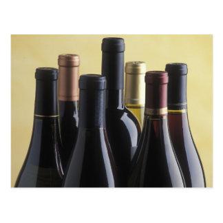 Wine Bottles Postcard