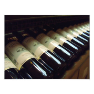 Wine Bottles Winery Photograph Wine tasting poster