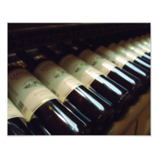 Wine Cellar Wine Rack fine art photography print Photo Art