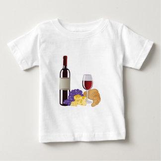 Wine & Cheese Baby T-Shirt
