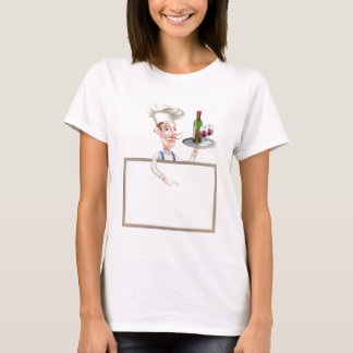 Wine Chef Sign T-Shirt
