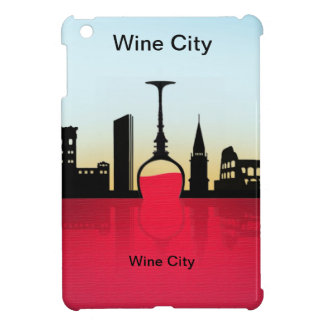 Wine city cover for the iPad mini