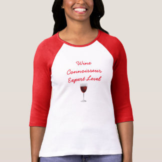 Wine Connoisseur - Expert Level  - T-shirt