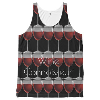 Wine Connoisseur  - Tank top -unisex All-Over Print Tank Top