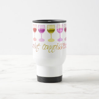 Wine Connoisseur Travel/Commuter Mug