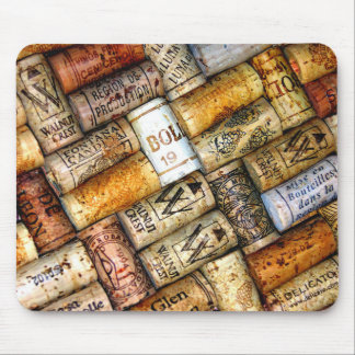 Wine Cork Mouse Pad