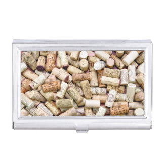 Wine Corks Business Card Holder