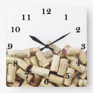 Wine Corks Clock
