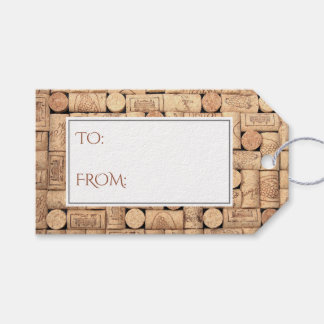 Wine Corks Gift Tags