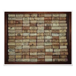 Wine Corks of the World Art Photo