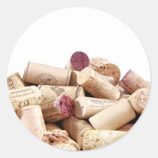 Wine Corks Stickers