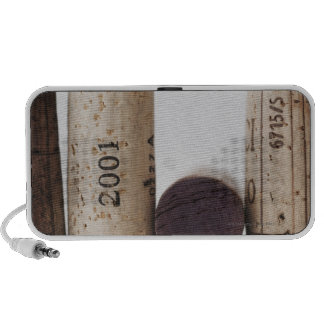 Wine corks with dates PC speakers