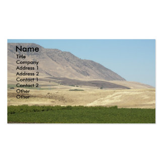 Wine Country Landscape Business Card