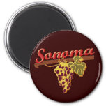 Wine Country Refrigerator Magnet