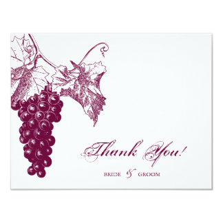 Wine Country Wedding Card