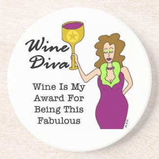 "Wine Diva ""Fabulous"" Coaster"