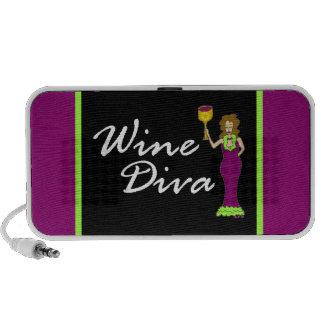 Wine Diva Fabulously Dark Mp3 Speaker