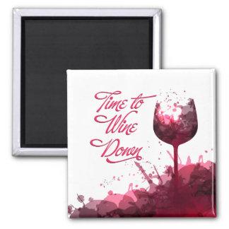 Wine Down Magnet