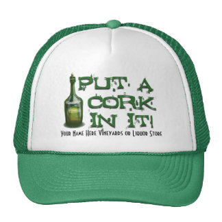 Wine Drinker - Put a CORK in it! Cap
