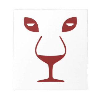 WINE FACE NOTEPAD