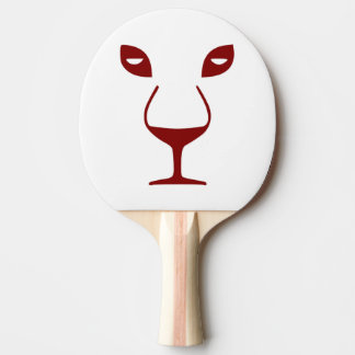 WINE FACE PING PONG PADDLE