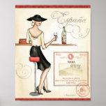 Wine Fashionista Print