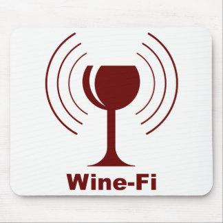 Wine-Fi Humor Mouse Pad