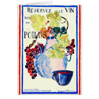 Wine for Soldiers 1916 Card