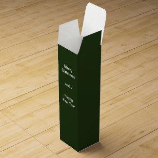 Wine Gift Box Green