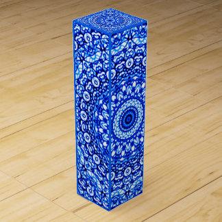 Wine Gift Box Mandala Mehndi Style G403