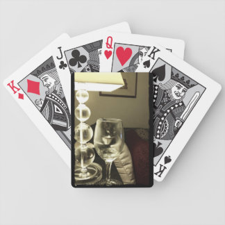 Wine Glass Lucy Bicycle Playing Cards