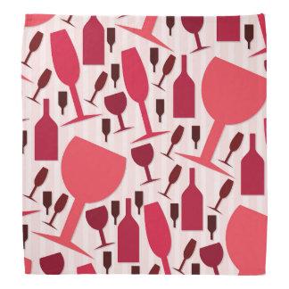 Wine glass pattern do-rag