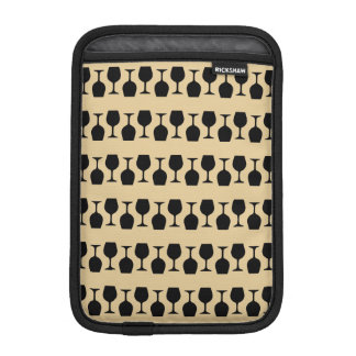 Wine Glass Pattern iPad Mini Sleeve