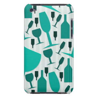Wine glass pattern iPod touch Case-Mate case